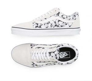 VANS | OLD SKOOL (BUTTERFLY) TRUE WHITE | BLACK