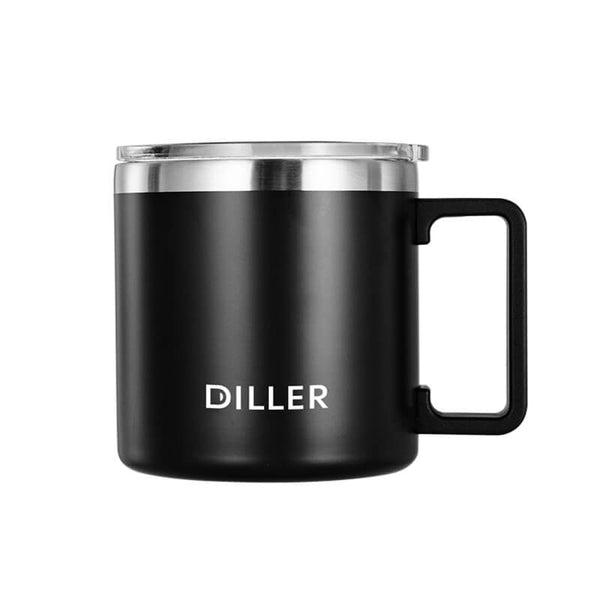 Coffee Mugs with Lids and Handle