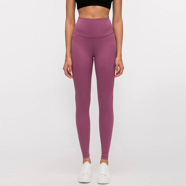 eggplant purple yoga pants