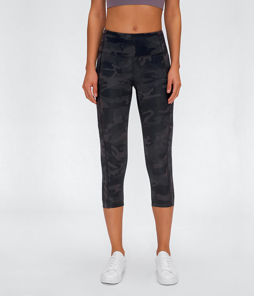 Yoga Capri Leggings with Pockets