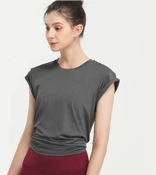 Temperament and quick-drying sexy beautiful back top