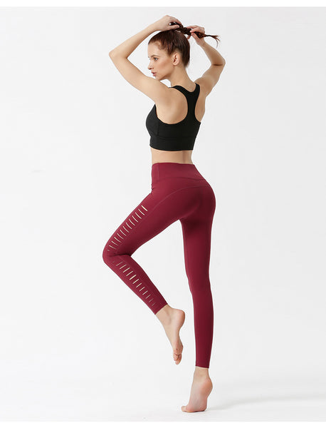 Sexy Side Cutout Hip-lifting Yoga Pants