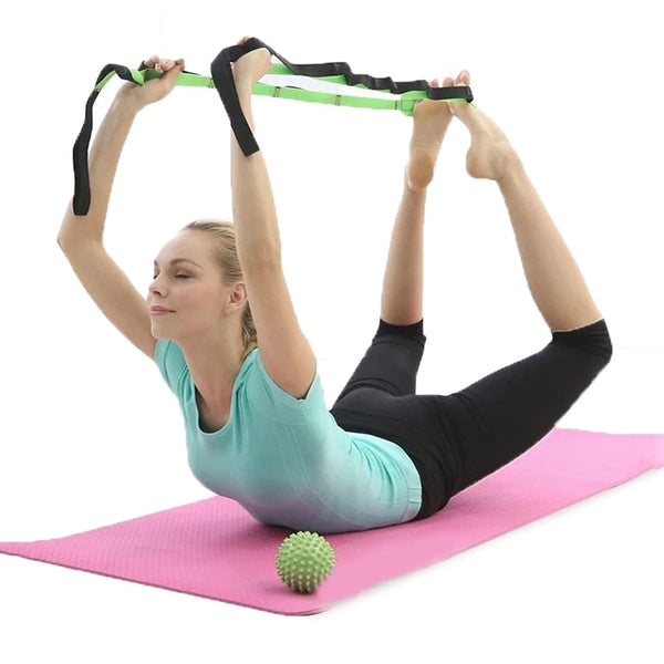 Stretching Out Yoga Strap
