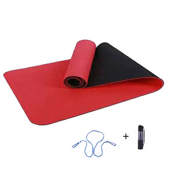 Dual-Color Eco Friendly TPE Yoga Mat