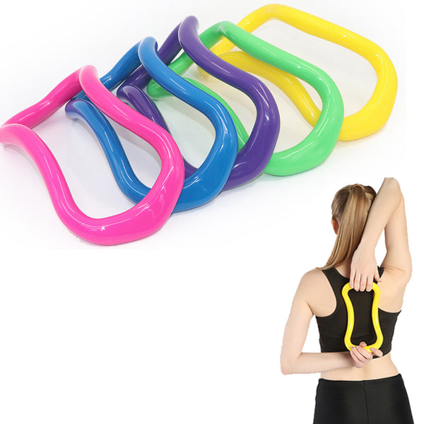 Adjustable Soft Yoga Pilates Fitness Ring