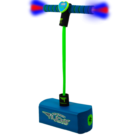 My First Flybar Foam Pogo Jumper With Flashing LED Lights & Pogo Counter Safe Pogo Hopper For Kids Ages 3 & Up