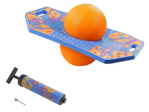 Flybar Pogo Ball Trick Board With Grip Tape For Kids Ages 6 & Up - 5 Colors Available