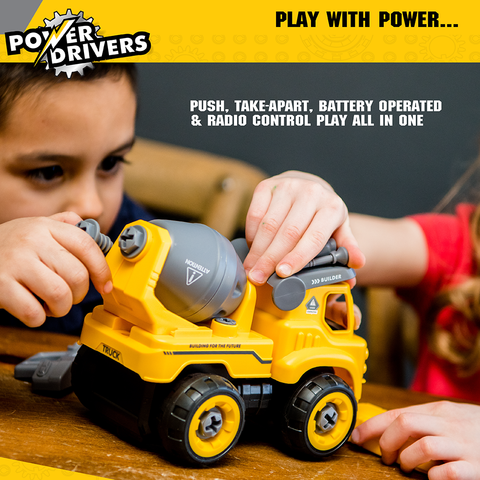 Power Drivers Builders: Dump Truck