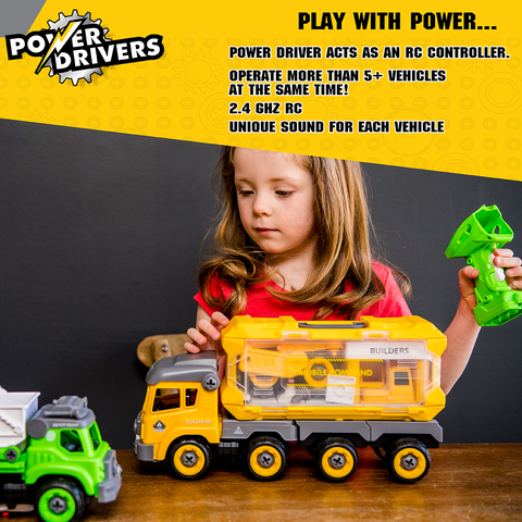 Power Drivers Mobile Command: Builders