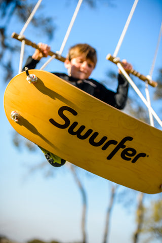 Swurfer Plus - 120 Feet Of Rope & Two Pairs Of Adjustable Handles