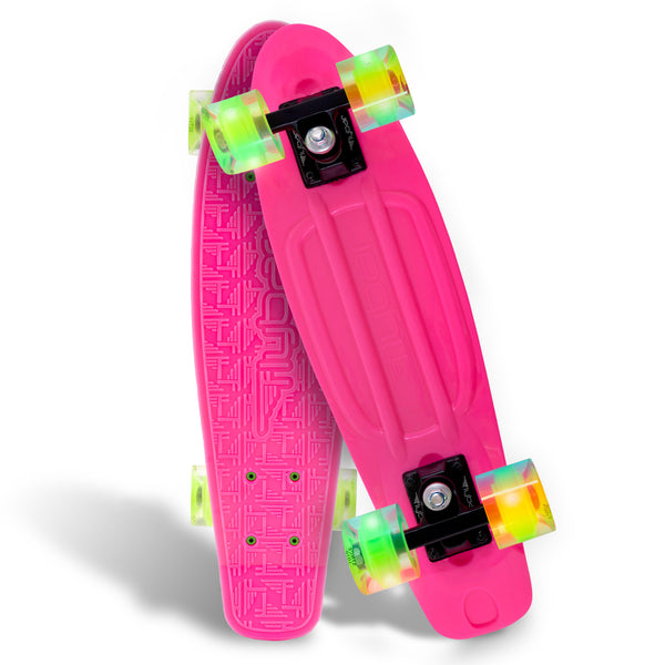 "Flybar 22"" LED Plastic Cruiser Board"