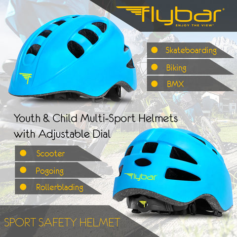 Flybar Junior Sports Helmet Blue