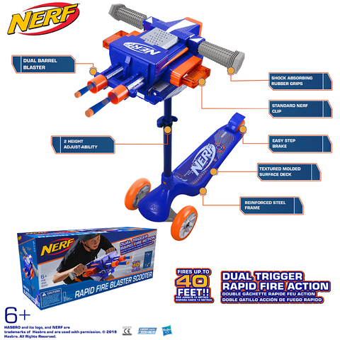 Nerf Blaster Scooter