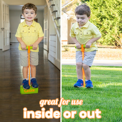 Ozone Jump & Squeak Pogo Hopper, Ages 3 & Up, 250 pounds