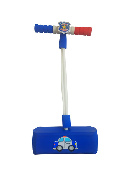 My First Foam Pogo Jumper with Flashing Lights & Siren - Police Cruiser
