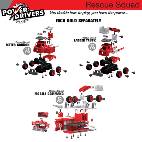 Power Drivers Rescue Squad: Water Cannon