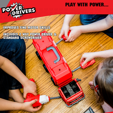 Power Drivers Mobile Command: Rescue Squad
