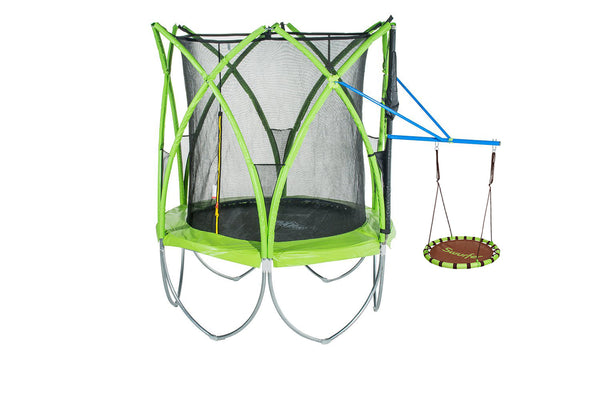 Spark Hanging Web Swing with Bar Compatible with Spark Trampoline