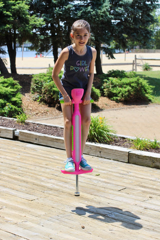 Flybar iPogo Jr. - World's First Interactive Counting Pogo Stick For Kids Ages 5 to 9