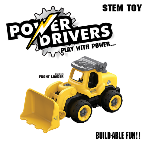 Power Drivers Builders: Front Loader