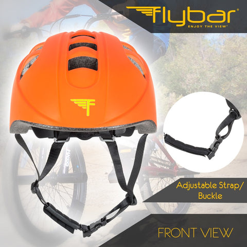 Flybar Junior Sports Helmet - Orange