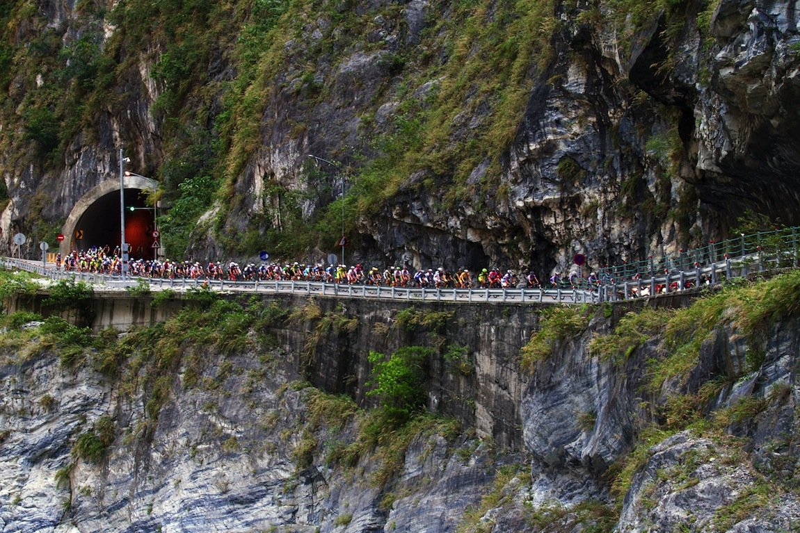 Inside the Peloton of TAIWAN KOM