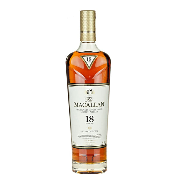 Macallan 18 Years Sherry Oak | 700 ml
