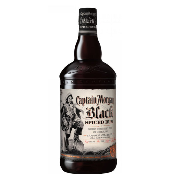 Captain Morgans Black | 1 Litre