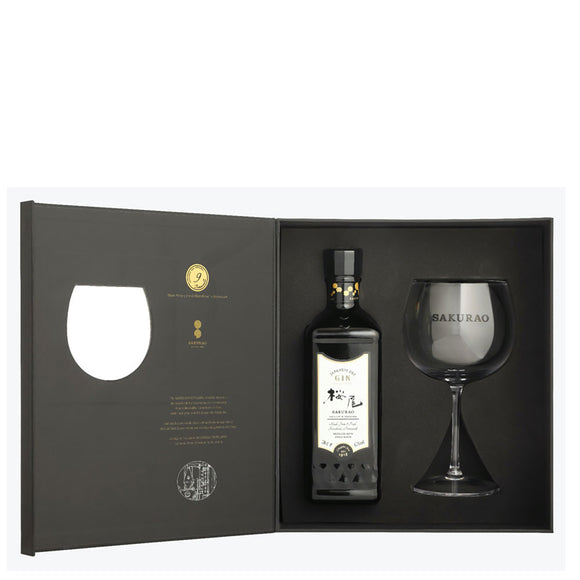 Sakurao Gin Original Gift Set | 700 ml