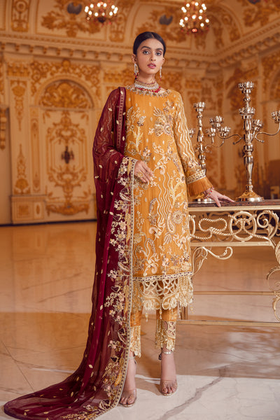 Emaan Adeel BR-05 URBAN SUNSET Belle Robe Wedding Edition