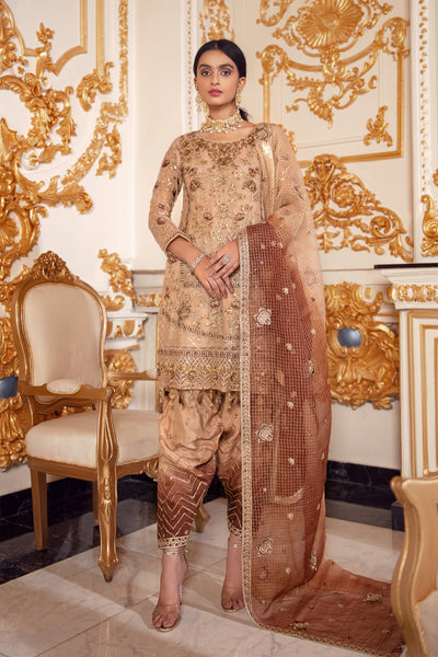Emaan Adeel BR-06 HAPPY HARVEST Belle Robe Wedding Edition