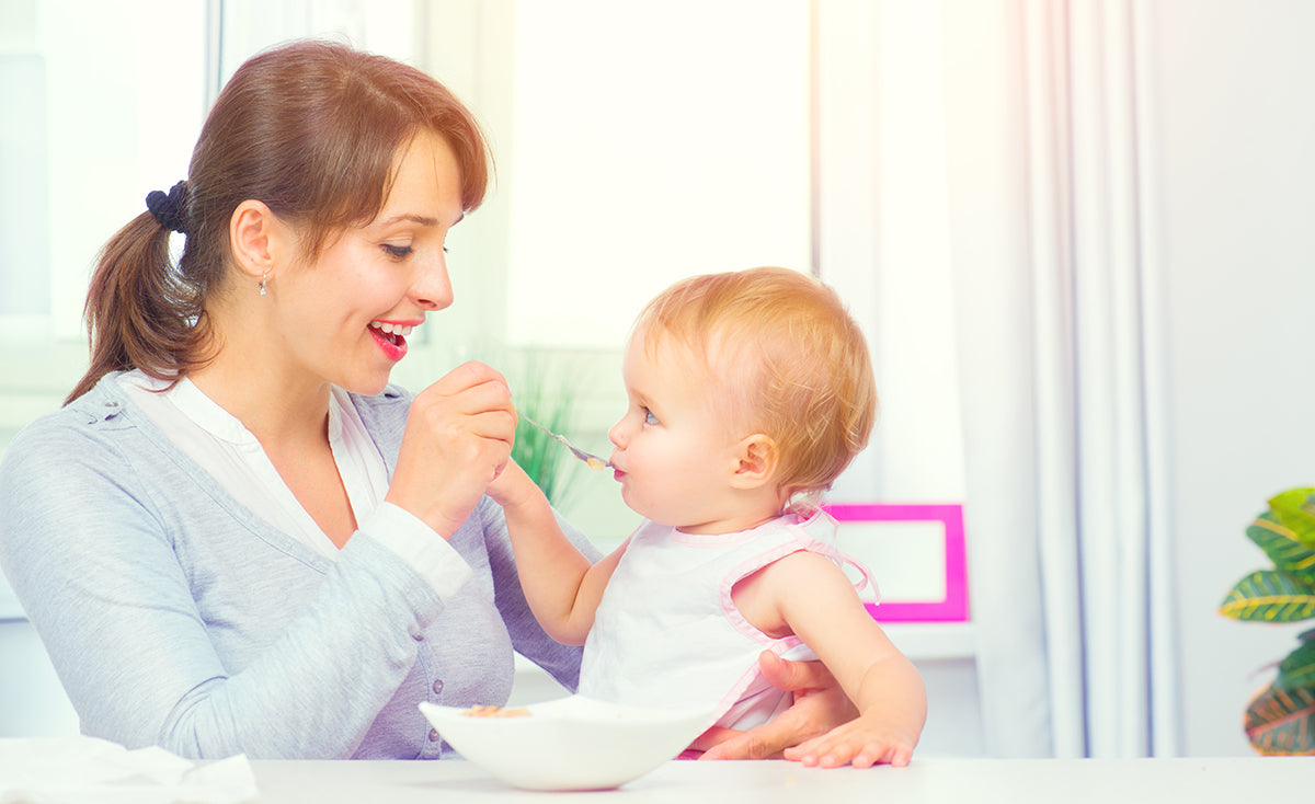Fostering Healthy Eating Habits In Your Baby
