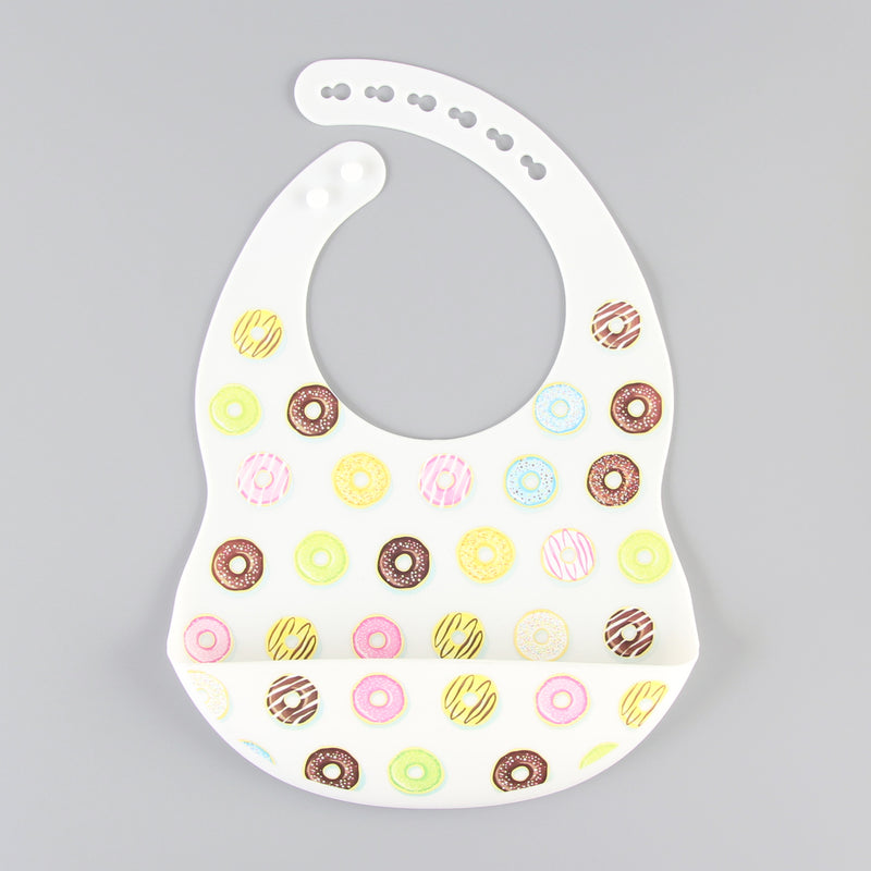 Silicon Baby Bibs (Donut)