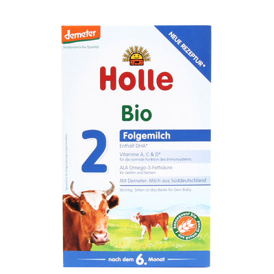 Holle Cow Milk Stage 2 Organic Formula (600g)