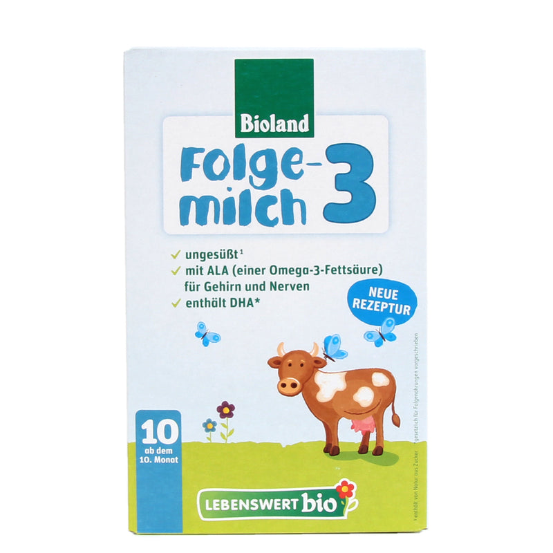 Lebenswert Stage 3 Organic Infant Milk Formula (475g)
