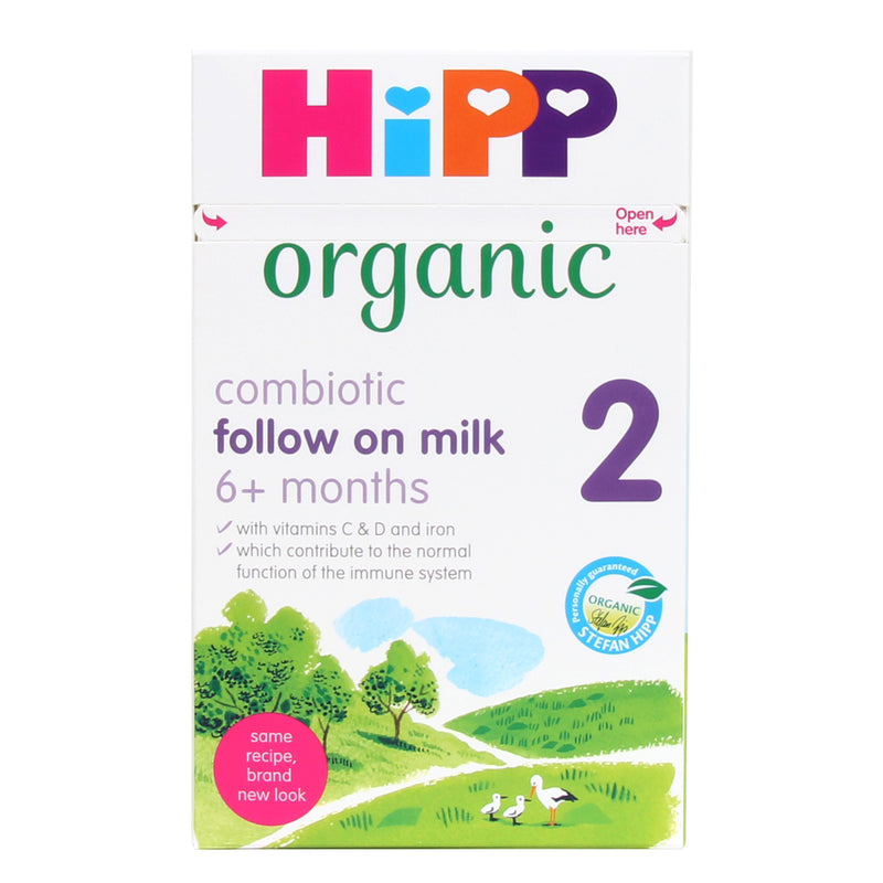 HiPP Stage 2 Organic Combiotic First Infant Milk Formula (800g)- UK