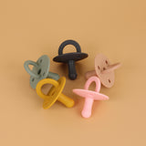 Silicone Newborn Pacifier (CLAY)