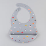 Silicon Baby Bibs (Boat)