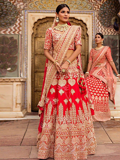 Pure Raw Silk Lehenga - 2019