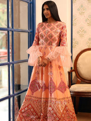 Anarkali gown, Anarkalis, Casual wear, Gown, Gowns, Jaipuri prints, Light wear, Party wear, Printed gown, Printed gowns, Prints,SALE