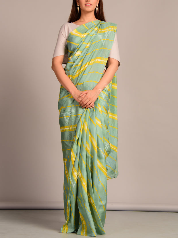 Limited Edition Silk Leheriya Saree