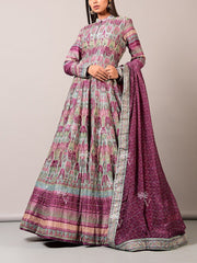 Wine Vasansi  Anarkali Gown