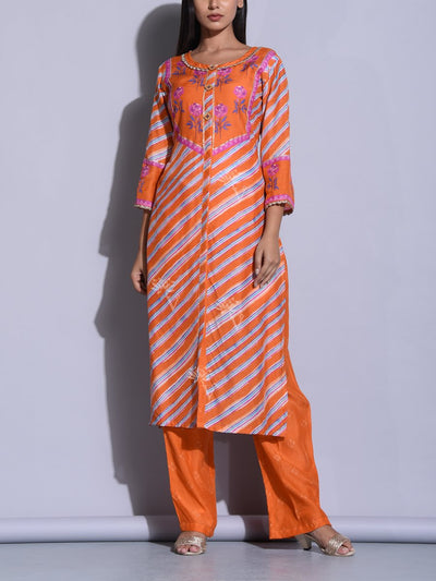 Kurta, Kurta Set, Kurti, Printed, Traditional, Traditional Wear, Casual Wear, Regular Wear, Festive Wear, Silk, Leheriya