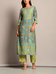 Kurta, Kurta Set, Kurti, Printed, Traditional, Traditional Wear, Casual Wear, Regular Wear, Festive Wear, Silk