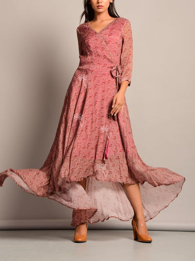 Dress, Dresses, Western, Neckline, A-Line, Skater, Fit And Flare, Midi Dress, Short Dress, Aymmetric