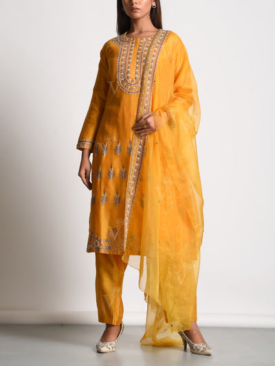 Suit, Suits, Suit set, Traditional outfit, Traditional wear, Traditional, Mirrorwork, Embellished, Cotton silk, Silk, Party wear, DD00