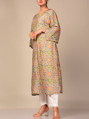 Light Green Printed Kurti