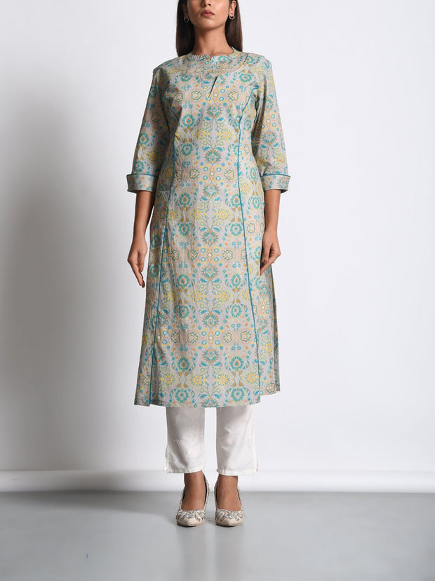 Kurti, Kurtis, Light weight, Cotton, Cotton silk, Printed, Traditional wear, Traditional outfit, Traditional, MTO, DD28