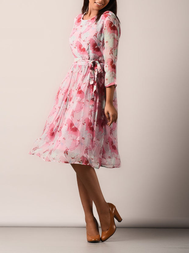Dress, Dresses, Flowy, Light weight, Western, Westerns, Light weight, Floral, Printed