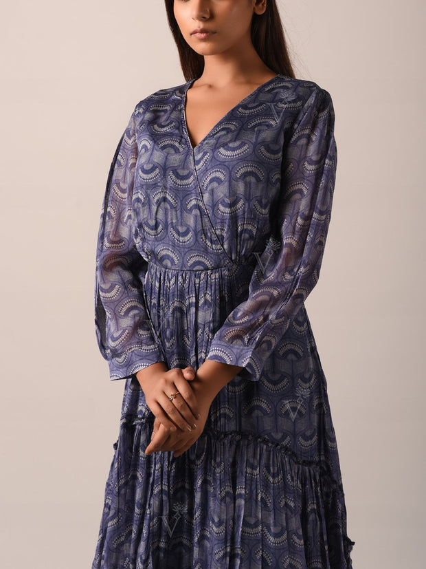 Dress, Dresses, Flowy, Light weight, Western, Westerns, Light weight, Geometrical, Printed